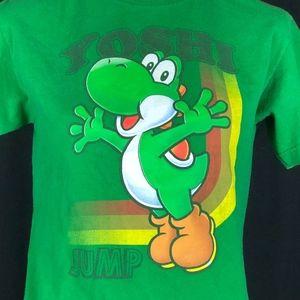 Yoshi youth t-shirt green J324